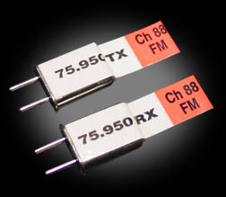 Futaba-compatible Channel 73 FM crystal set 75.650Mhz