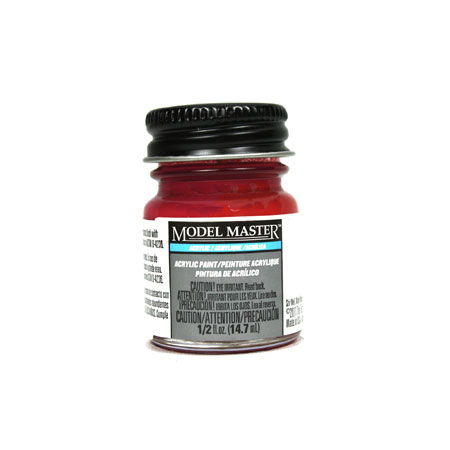 Acryl Flat 1/2oz Insignia Red