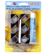 Military Colors Acrylic Paint Pot Set