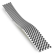 Top Flite Trim MonoKote Checkerboard Black/White