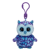 Ty Beanie Boo - Oscar The Blue Owl Clip