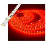 Self-Adhesive Waterproof 2 inch 3 Lights LED Light Strip - Red