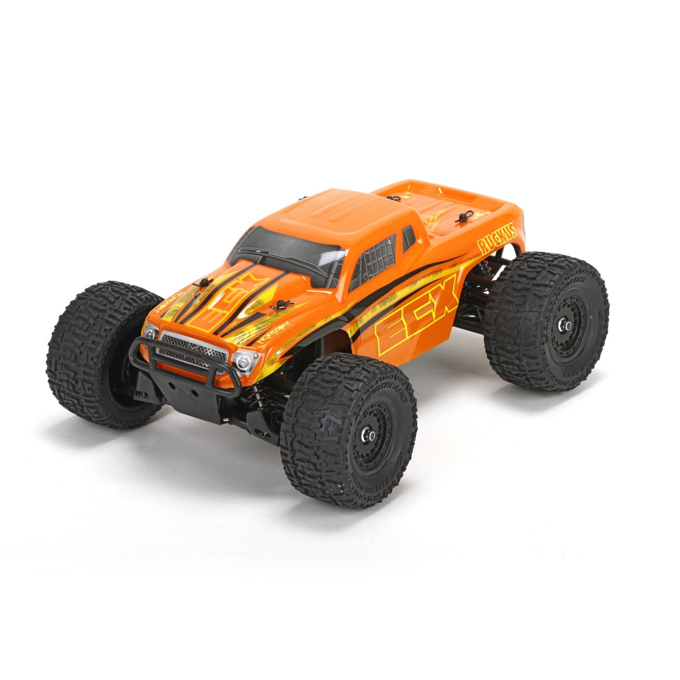 ECX Ruckus 4WD 1:18 RTR Orange / Yellow