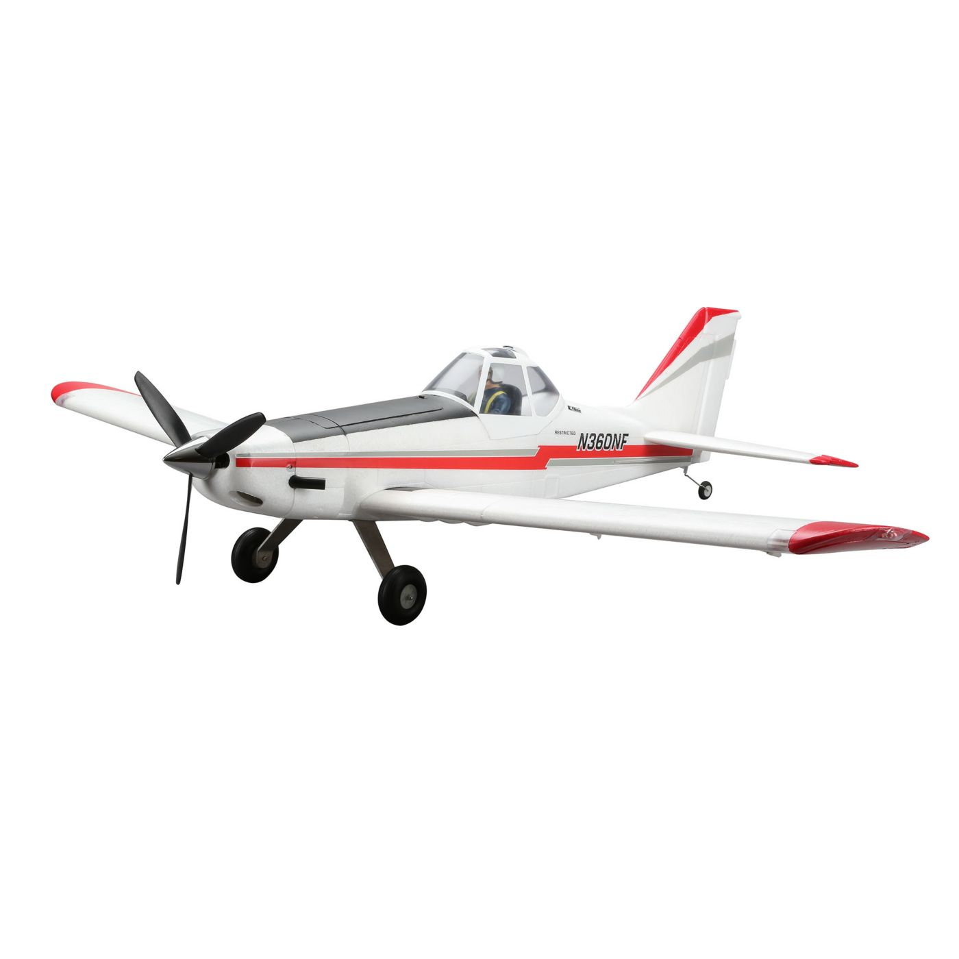 E-FLITE Pawnee Brave Night Flyer BNF Basic