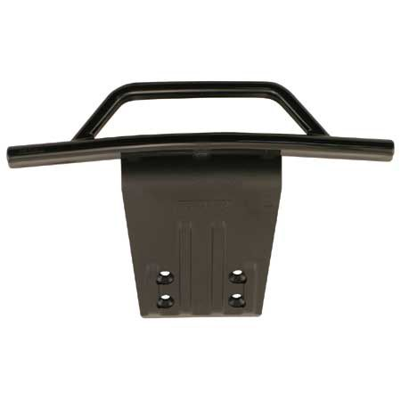 Front Bumper & Skid Plate, Black: SLH