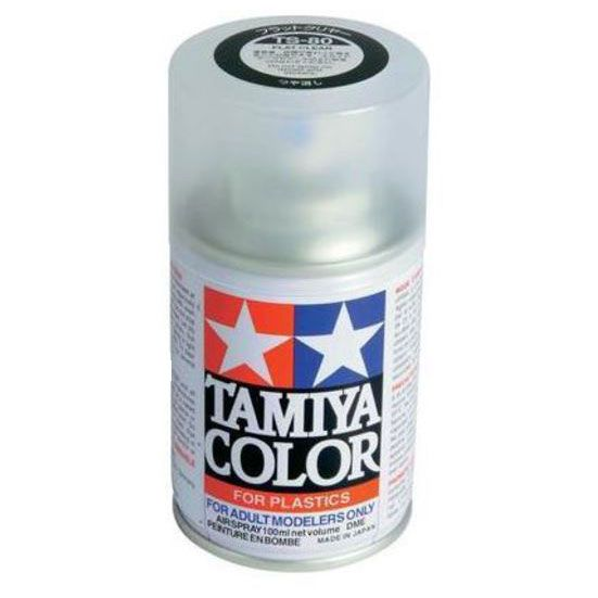 Tamiya TS-80 Flat Clear Spray Lacquer