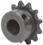 3/8 pitch Type B Sprocket - 12 teeth, 1/2 inch bore