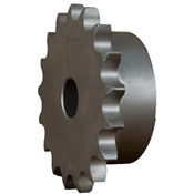 3/8 pitch Type B Sprocket - 16 teeth, 1/2 inch bore