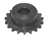 3/8 pitch Type B Sprocket - 20 teeth, 3/4 inch bore