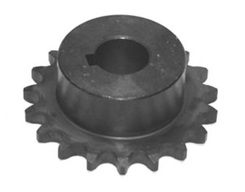 1/2 pitch Type B Sprocket - 20 teeth, 1-1/8 inch bore