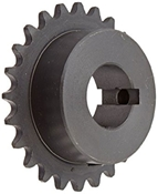 1/2 pitch Type B Sprocket - 22 teeth, 1 inch bore
