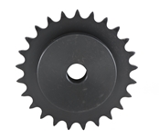 1/4 pitch Type B Sprocket - 28 teeth, 1/2 inch bore