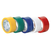 PVC Electrical Tape 5-Pack Red/White/Blue/Green/Yellow