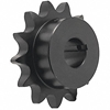 1/2 pitch Type B Sprocket - 14 teeth, 1 inch bore