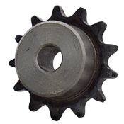 1/2 pitch Type B Sprocket - 12 teeth, 1 inch bore