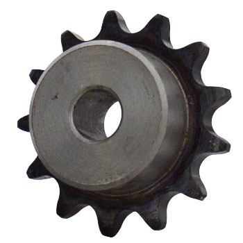 1/2 pitch Type B Sprocket - 12 teeth, 1/2 inch bore