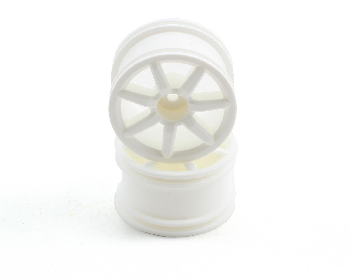Associated Spoked Wheels White 18R (2)