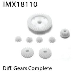 IMEX Diff Large Gear 38T  + Diff Pinion