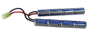 Intellect 1600mAh 9.6V NiMH Crane Battery