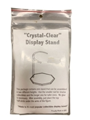 Pioneer Plastics Crystal-Clear Display Stand