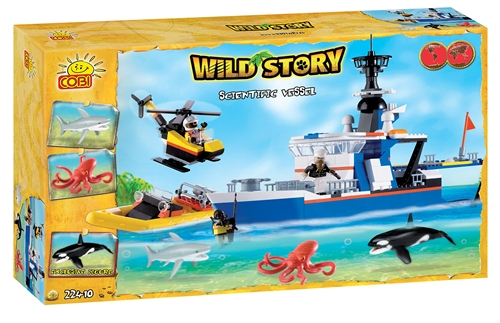 Cobi Wild Story - Scientific Vessel 400 pc