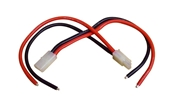 Tamiya-Style Male + Female Connector Set with Leads