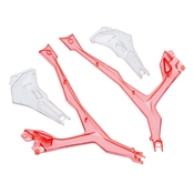 LED Arm Covers Red Vista UAV