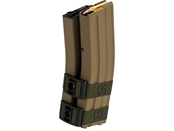 Tan 1300rd Electric Auto Winding Dual Mag for M4/M16 Series AEG (w/ Sound Control)
