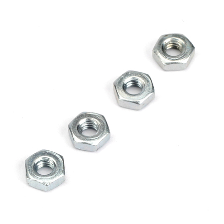 Dubro 2.5mm Hex Nuts