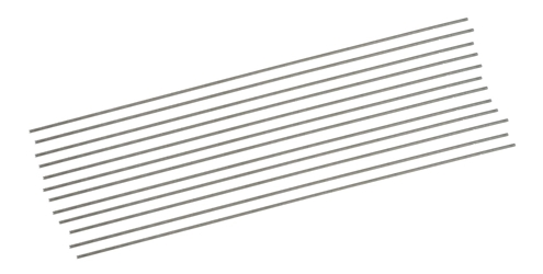 Dubro 4-40 x 12in. Fully Threaded Rod - sold individually