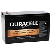 Duracell Ultra 12V SLA Sealed Lead Acid 8AH AGM Battery with F1 Terminals