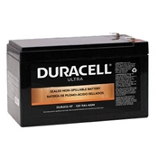 Duracell Ultra 12V SLA Sealed Lead Acid 9AH AGM Battery with F2 Terminals