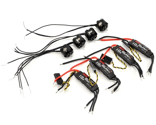 F1104 Tiny Power Combo Kit w/Motors, ESCs & Props