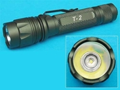 G&P T2 170 Lumen CREE LED Flashlight w/ Dual Brightness, Strobe and Memory