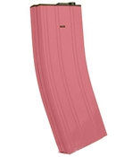 Matrix Full Metal 370 round Bubblegum Pink Flashmag for M4 M16 Series Airsoft AEG