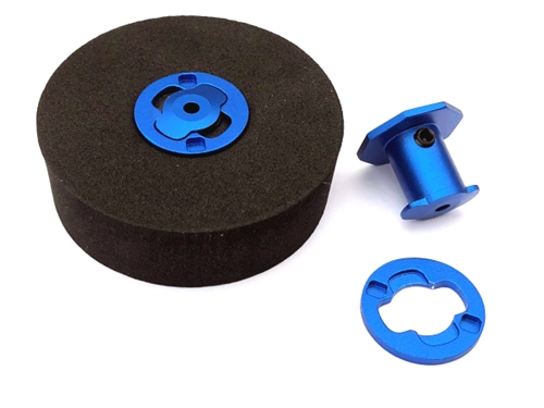 FingerTech Twist Hubs 4mm, 0.75 inch wide (pair)
