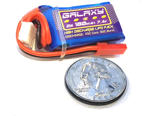 Galaxy 2S (7.4V) 180mAh Lipoly Battery Pack