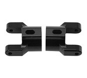 Golden Horizons Alum C Hub Carriers Set Blk Axial AX10