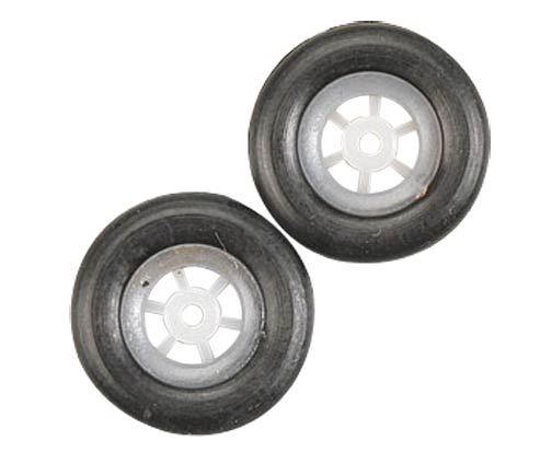 GWS Scale Rubber Wheel 15mm Diameter 2pk