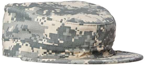 Military Ranger Cap / Hat with Map Pocket - Digital ACU - XL