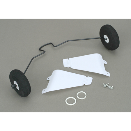 HobbyZone Landing Gear with Tires: Super Cub LP