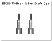 Rear Drive Shaft 2pcs