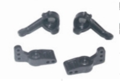 1/16 Steering Knuckles(Left/Right) +Rear Hub Carriers (Left/Right)