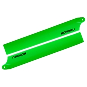 Plastic Main Blade 135mm, Green: Blade 130 X