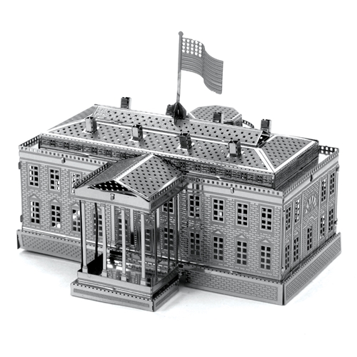 Metal Earth: White House Metal Sculpture