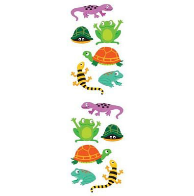 Mrs. Grossman's Sticker Strip- Chubby Amphibians