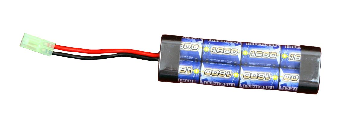 Intellect 1600mAh 9.6V NiMH Battery Pack