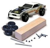 Pinecar P370 Deluxe Basic Car Kit