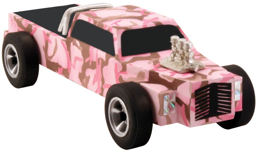 Body Skin Custom Transfer, Pink Camo