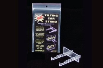Plastic Model Acrylic Tilt Stand Display